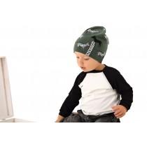 Chlapčenská čiapka Zibi zelená