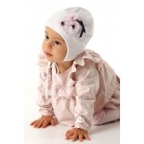 Dievčenská čiapka Olivia s podšívkou