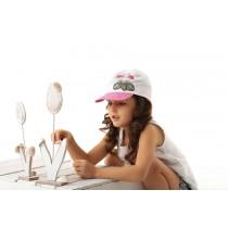 Dievčenská šiltovka Plameniaky