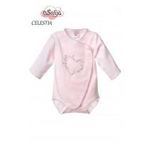 Dievčenské body Celestia ružové