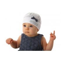 Letná čiapka pre dievča Modrá mašlička