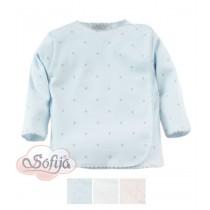 Chlapčenská košieľka hviezdička modrá