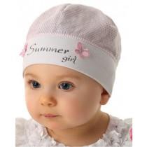 Dievčenská čiapka Letné dievča