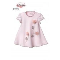 Dievčenské šaty Rutka ružové