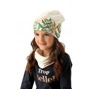 Dievčenská čiapka Iwa dvojvrstvová