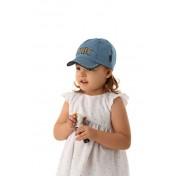 Dievčenská šiltovka Chic modrá
