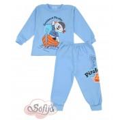 Chlapčenské pyžamo modré